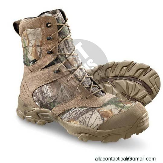 Обувь - Ботинки — Охотничьи ботинки от компании Guide Gear Men s Timber Ops  Insulated Waterproof Hunting Boots, 800 Grams — Hotguns 69dfbf936f0